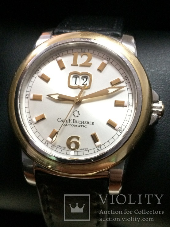 Carl F. Bucherer Patravi Automatic сталь/золото 750