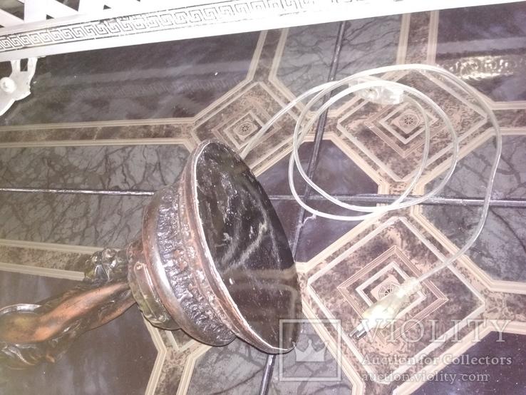 Лампа настольная светильник Девушка металл, фото №12