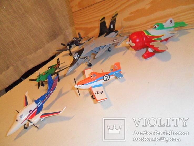 Модели самолётов Диснея в сборе, фото №5