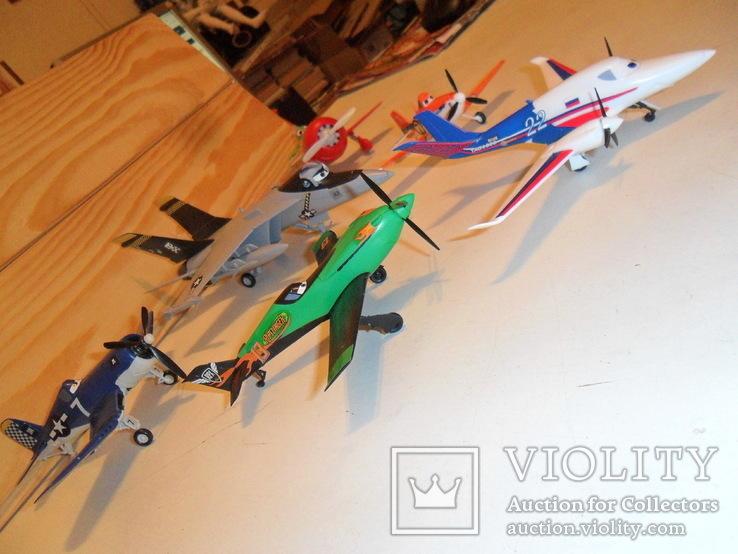 Модели самолётов Диснея в сборе, фото №6