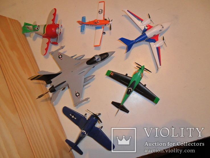 Модели самолётов Диснея в сборе, фото №7