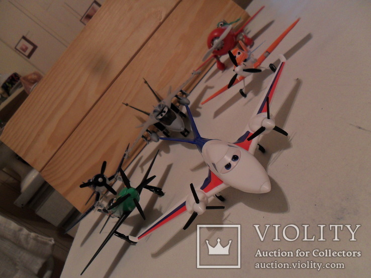 Модели самолётов Диснея в сборе, фото №8