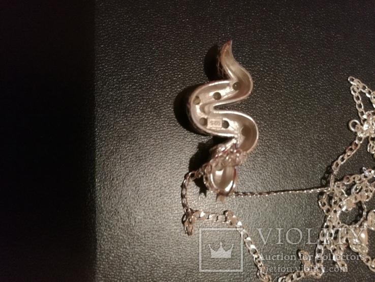 Ожерелье с натуральными опалами, фото №3
