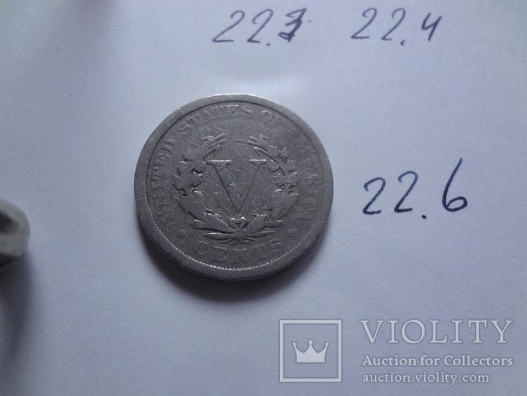 5 центов 1903 США    (Н.22.6)~, фото №5