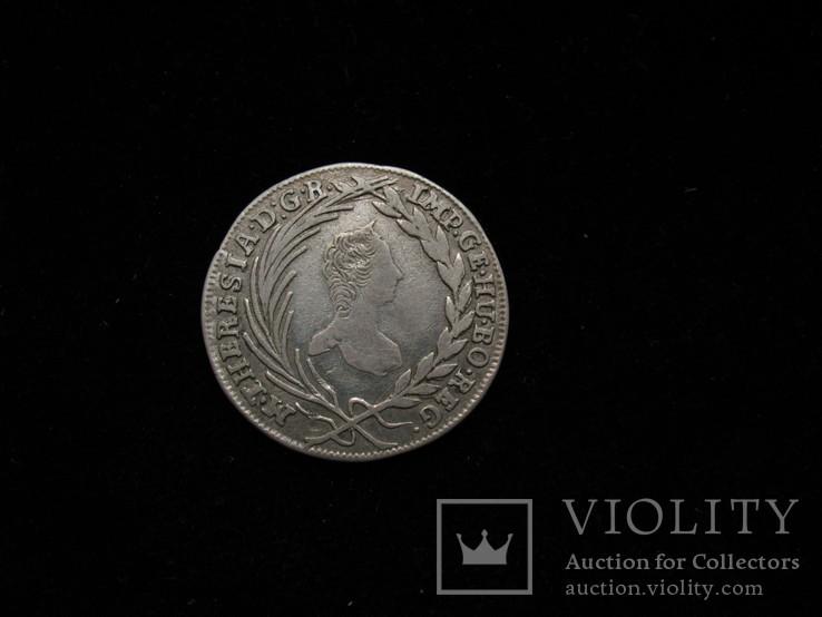 10 крейцерів 1764 КВ,  Австро-Угорщина, Угорський тип, фото №2