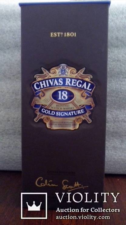 Віскі Chivas Regal 18років 40% 1L
