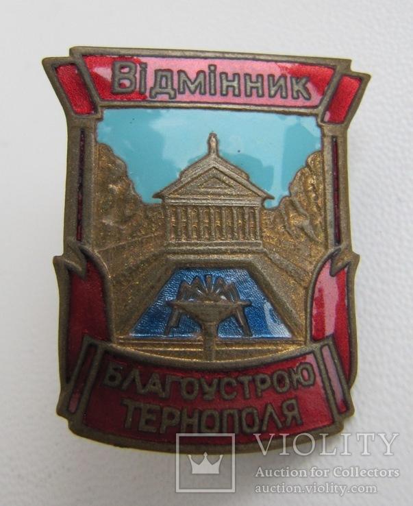 Відмінник благоустрою Тернополя