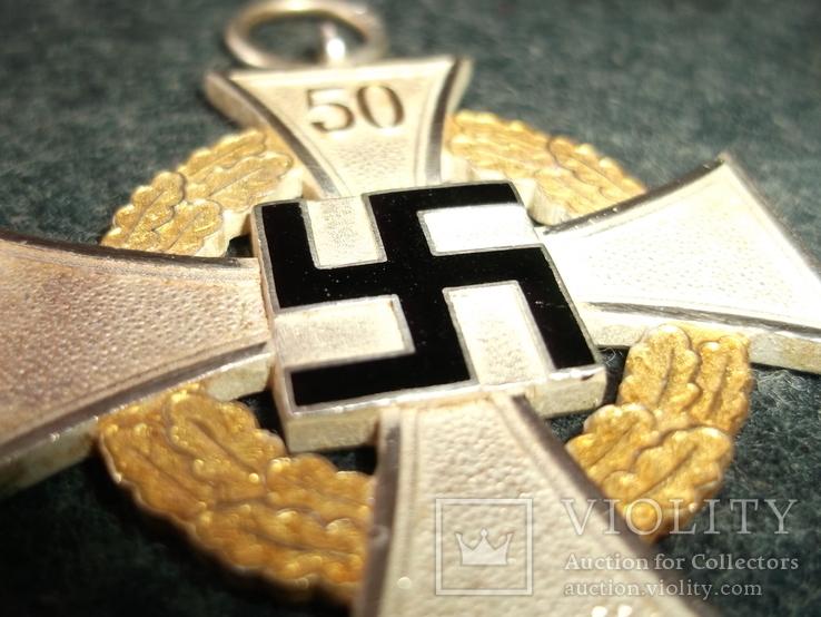 """Крест """" 50 лет гражданской выслуги""""., фото №11"""