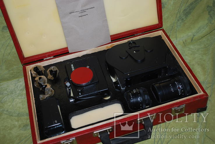 Фотоаппарат СЕЛЕНА, фото регистратор, Police-USSR-film-camera №5