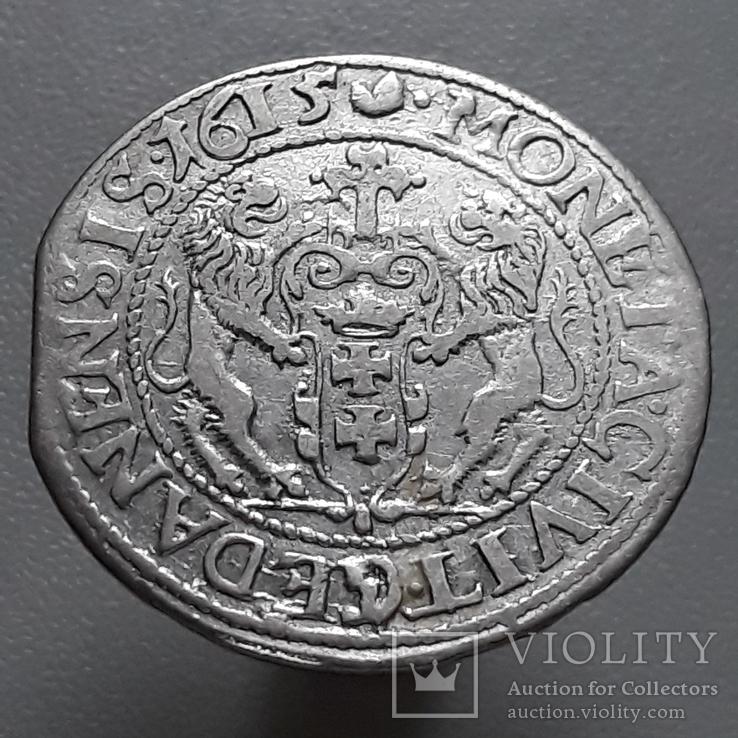 Орт 1615 г. Гданськ (R)