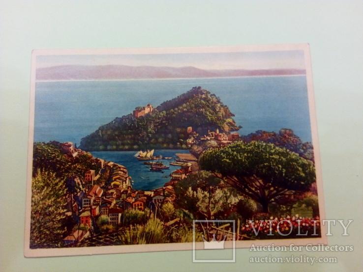 Открытка с видом Портофино (Италия), фото №2