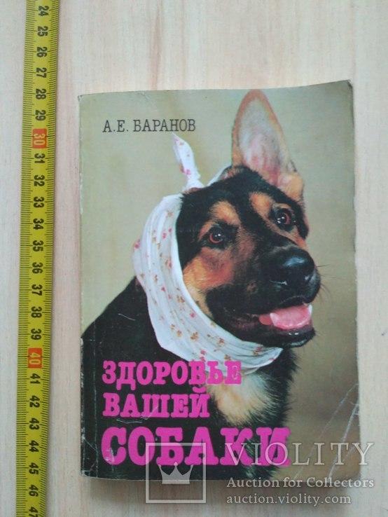 """Баранов """"Здоровье вашей собаки"""" 1989р., фото №2"""