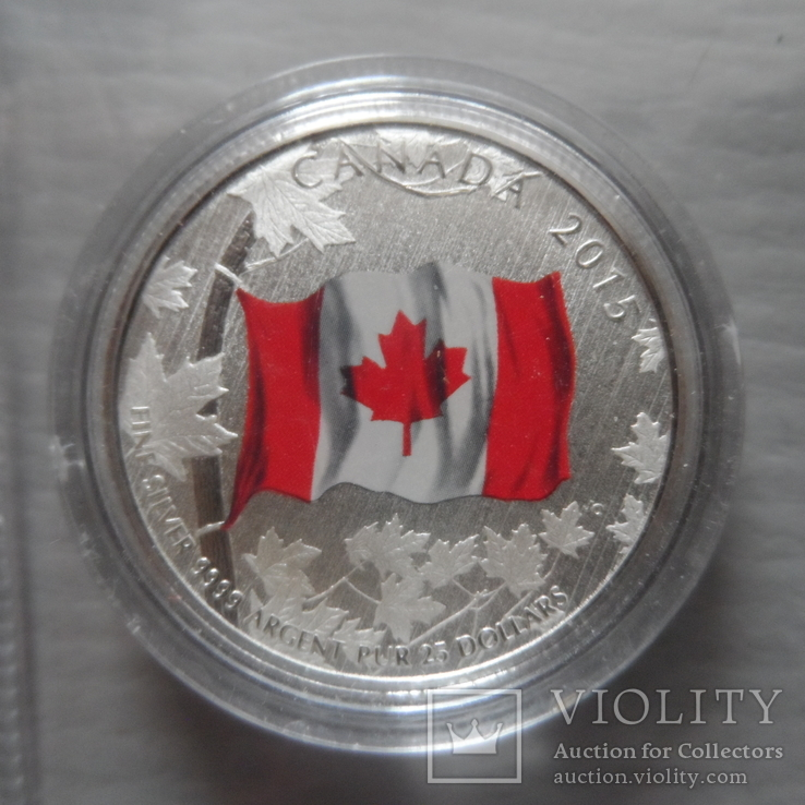 20 долларов 2015   Канада  серебро  (Н.25.7)~, фото №3