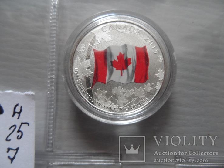 20 долларов 2015   Канада  серебро  (Н.25.7)~, фото №6