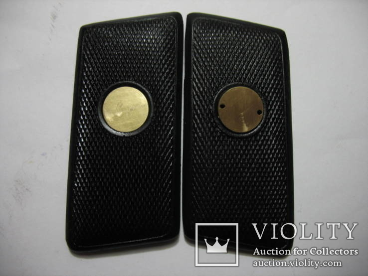 Вальтер 8, комплект креплений накладок рукояти, копия, фото №5