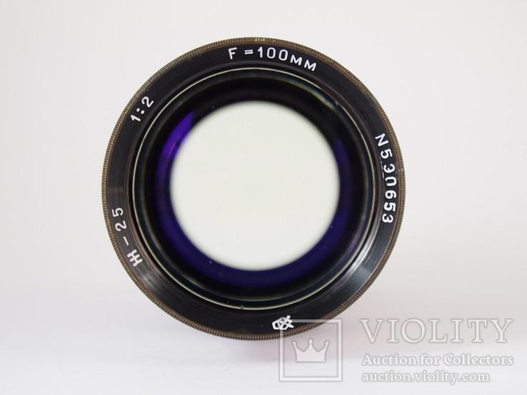 Объектив Ж - 25  1 : 2 / F = 100 мм, фото №8