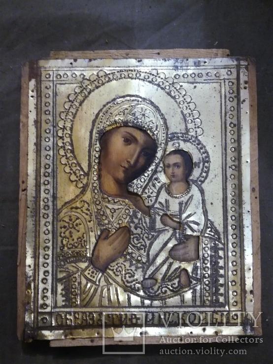 Икона Богородицы 38х31,5см., фото №3