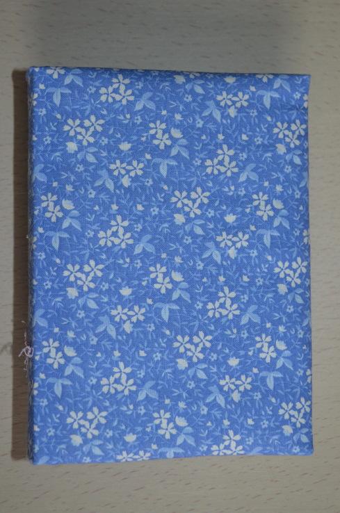 Блокнот ручной работы с нелинованными состаренными страницами -Цветочный- 100 листов, фото №6