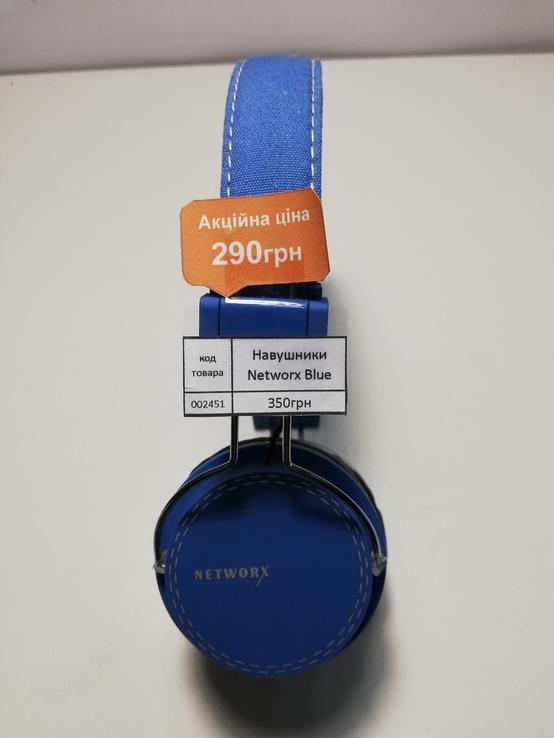Наушники Networx Blue Jeni Оригинал (код 2451), фото №3
