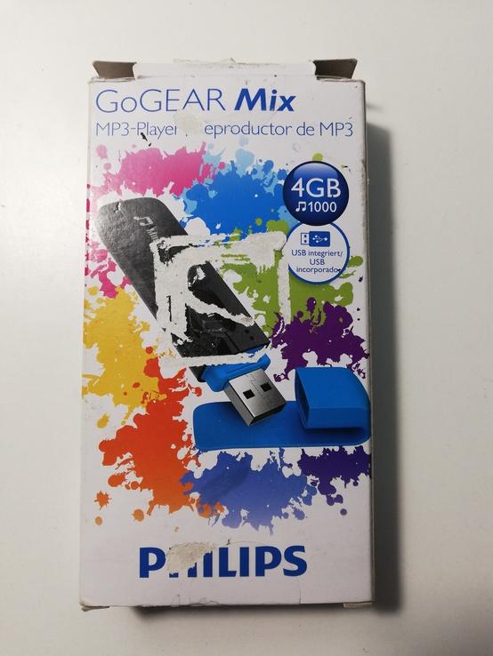 Плеер philips GoGear mix 4 Gb  Оригинал (код 2497), фото №3