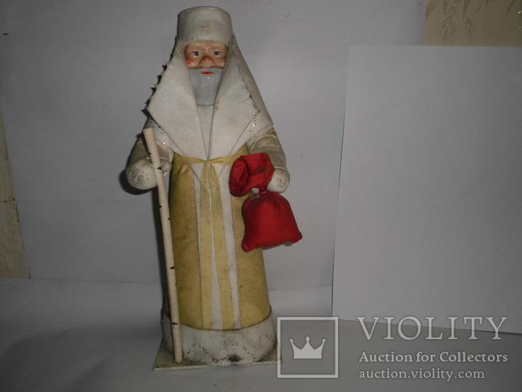 Дедушка мороз  - родом из СССР, в родной упаковке, 45 см.,, фото №2
