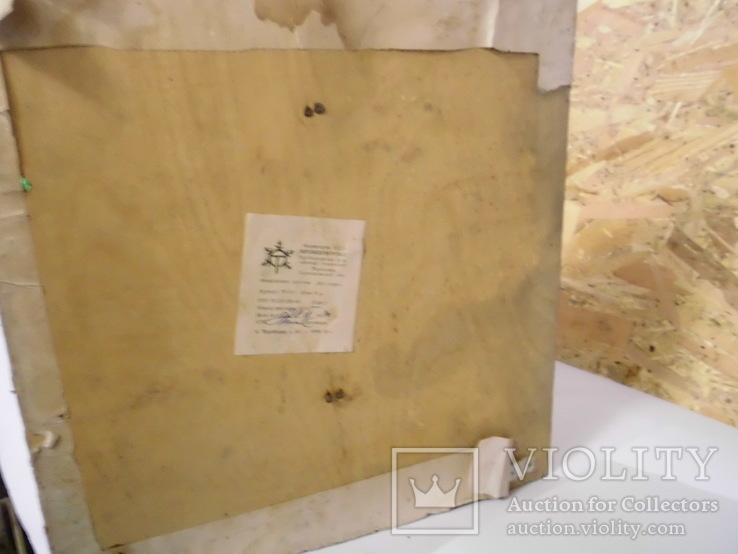 Дедушка мороз - возраст 48 лет, из СССР, 72 см.,прессопилки, на реставрацию, фото №12