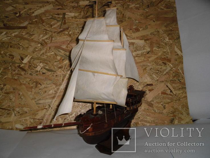 Модель парусника 66 см х 66 см, фото №4