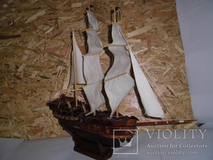 Модель парусника 66 см х 66 см, фото №6