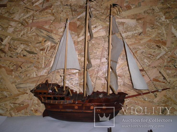 Модель парусника 66 см х 66 см, фото №7