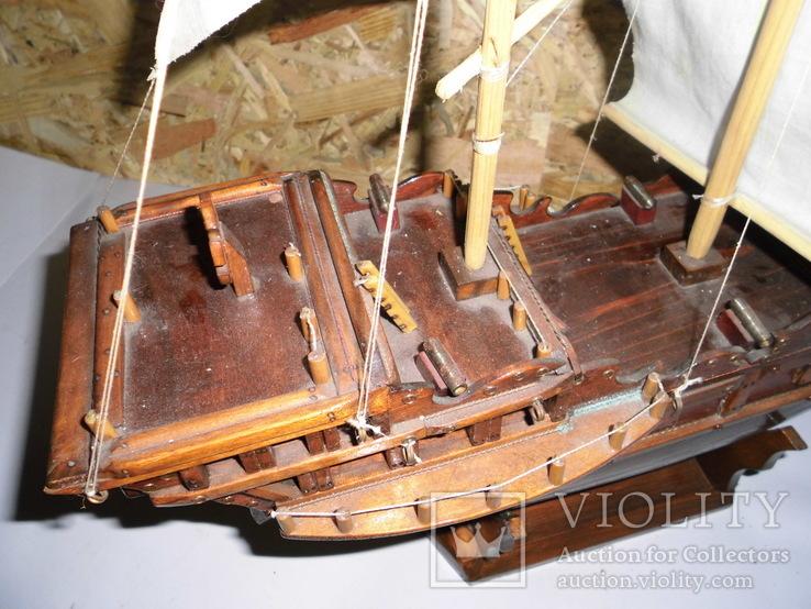 Модель парусника 66 см х 66 см, фото №10