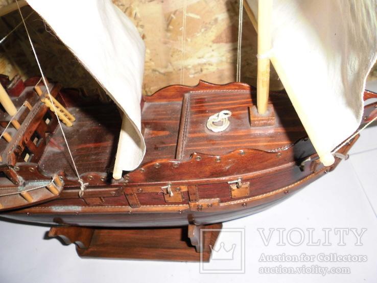 Модель парусника 66 см х 66 см, фото №11