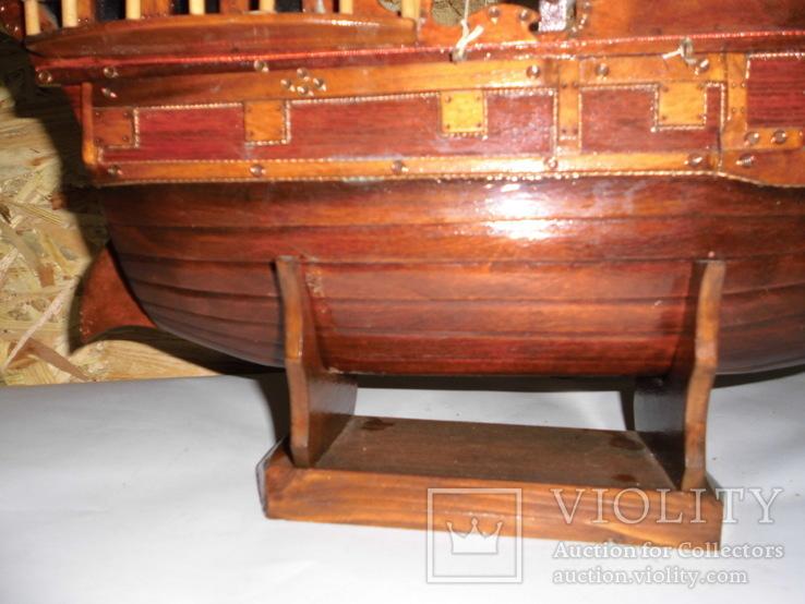Модель парусника 66 см х 66 см, фото №12