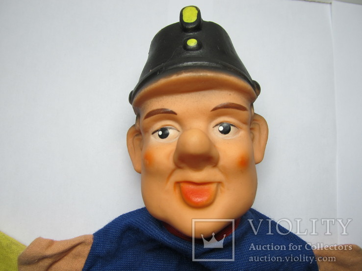 2 куклы из кукольного театра - солдат Швейка и Клоун, фото №4