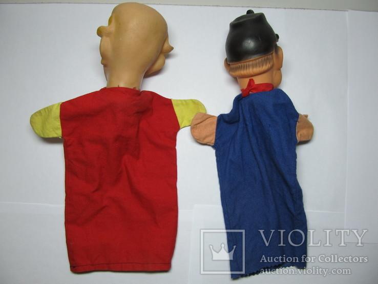 2 куклы из кукольного театра - солдат Швейка и Клоун, фото №7