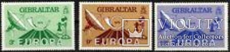 EUROPA CEPT 1979 История почты Гибралтар