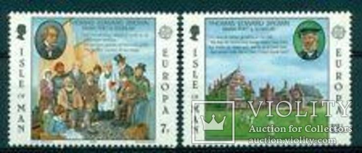 EUROPA CEPT 1980 Персоналии остров Мэн