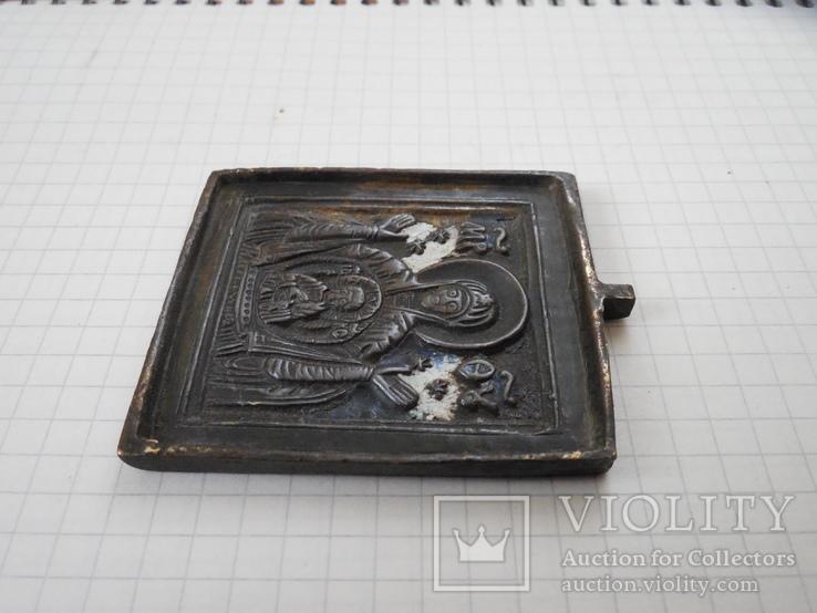 Иконка литая Знамение Пресвятой Богородицы, фото №4