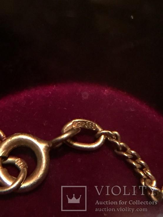 Цепочка золотая Звезда 583, фото №6
