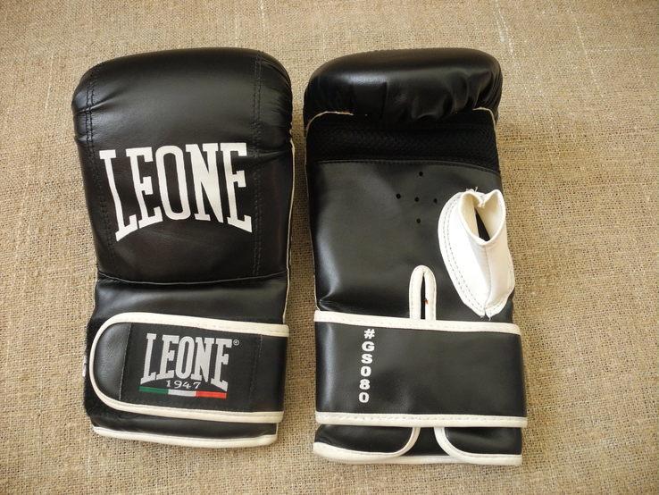 Перчатки Бокс Кикбоксинг LEONE p.L ( Новое )