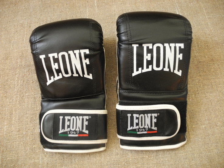 Перчатки Бокс Кикбоксинг LEONE p.L ( Новое ), фото №3