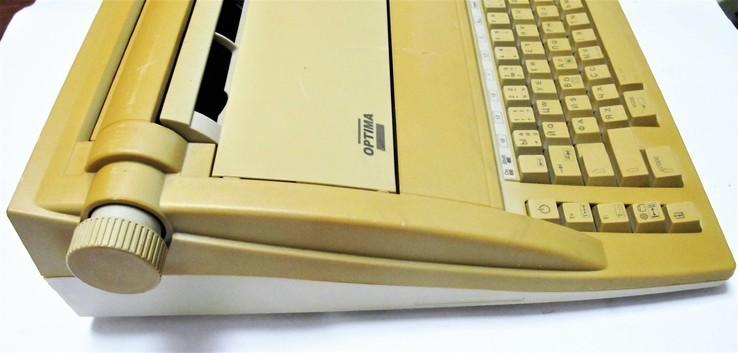 Машинка пишущая печатная Optima SP 51 Germany №2, фото №5