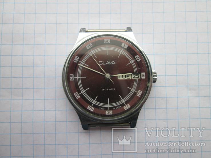 185. часы Слава на ходу - «VIOLITY» Auction for collectors 4c8098d4aff74