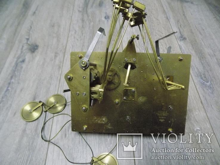 Механізм Hermle четвертного підлогового годинника, фото №7