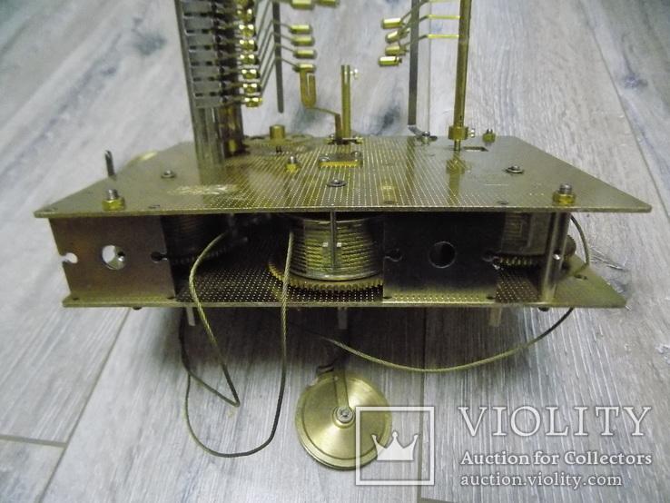 Механізм Hermle четвертного підлогового годинника, фото №9
