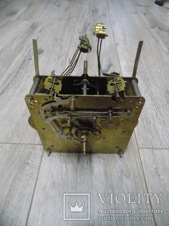 Механізм Hermle четвертного підлогового годинника, фото №10