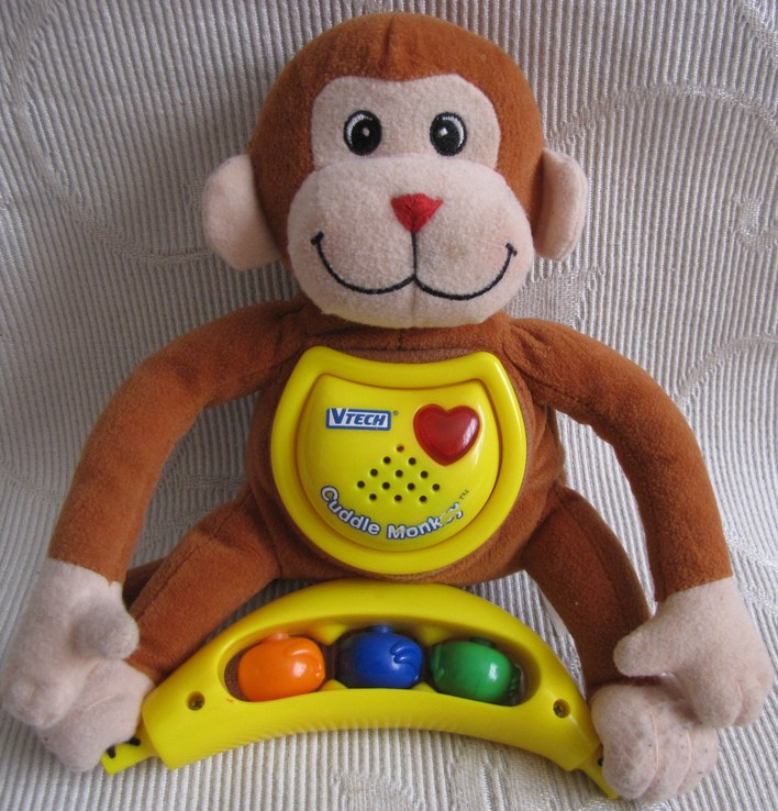 Мягкая игрушка музыкальная обезьяна