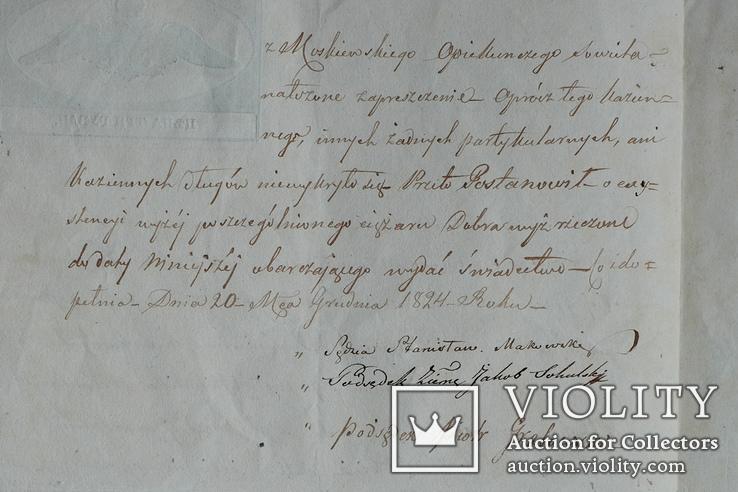 Гербовая бумага. Для письма крепостей до 1000 рублей. Цена три рубли., фото №5