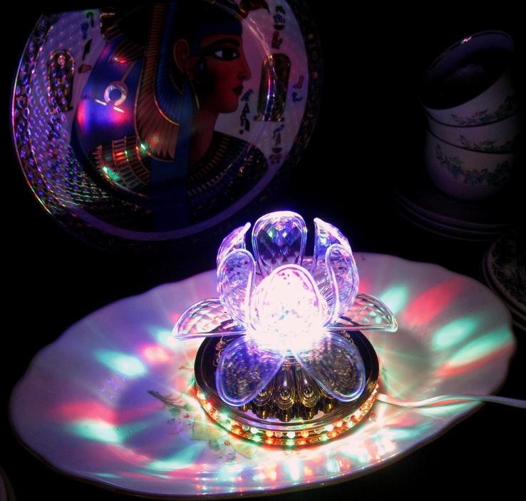 Диско светильник лилия , Диско шар ночник ., фото №6