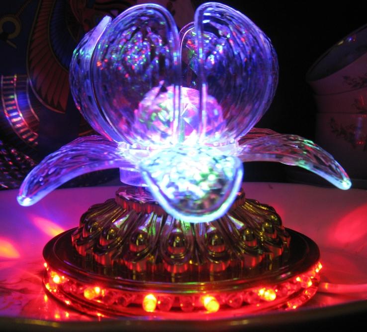 Диско светильник лилия , Диско шар ночник ., фото №8