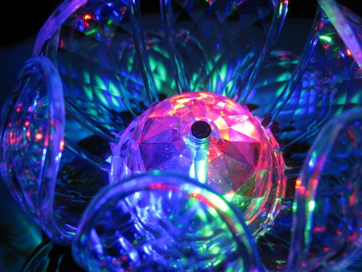 Диско светильник лилия , Диско шар ночник ., фото №9